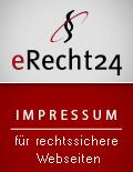 Siegel Impressum eRecht24